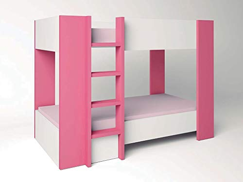Luxe meubel Online Mediterranea stapelbed, roze
