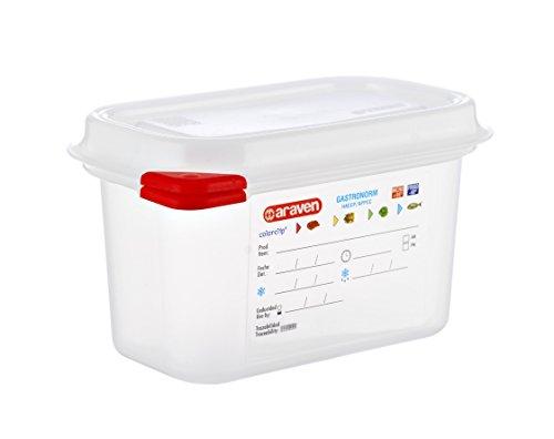 354 x 325 x 200 Araven GASTRONORM 471 contenitore ermetico 2//3 Capacità 19 L