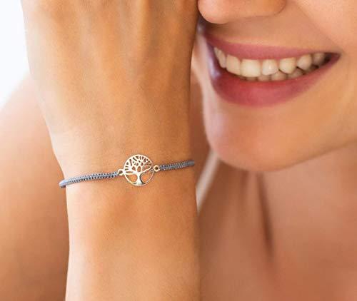 Lebensbaum Armband Geschenk für Frauen iz-el