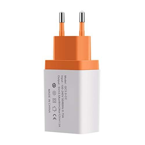 Windy5 Universal del teléfono móvil de Carga rápida Cargador de Viaje Enchufe de la UE Pared rápido reemplazo Adaptador de la Carga 3.0 USB para Samsung/Tablets