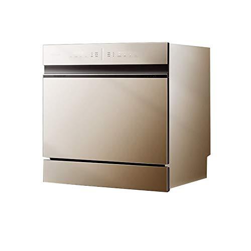 CLING Lavavajillas Diseño Compacto,3 Programas De Lavado, Tasa De Esterilización del 99,99%,lavavajillas