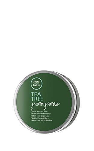 Paul Mitchell Tea Tree Grooming Pomade - Styling-Paste für mehr Glanz und Volumen, ideal für welliges oder lockiges Haar, Hair-Styling in Salon-Qualität, 85 g