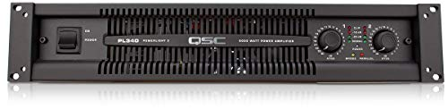 Lowest Price! QSC PL380 Powerlight 3 Series Power Amplifier