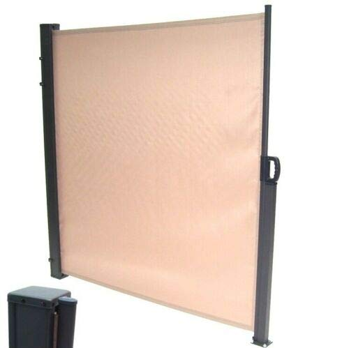 D&L Toldo lateral de 350 x 200 cm, protección solar, 56057, estor lateral y cortavientos AWZ