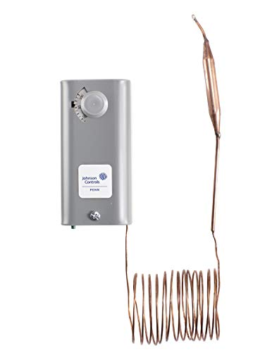 Johnson Controls A19ABC-24C A19 Series Remote Bulb. Control, Single-Pole, Single-Throw, Adjustable Differential