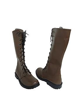 Future Diary Mirai Nikki Yukiteru Amano Cosplay Shoes Boots  Female US 6.5/EU37.5  Brown