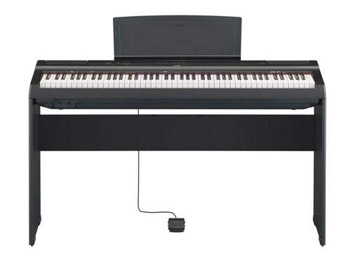 Yamaha P125 88-Key Weighted Digital Piano Home Bundle with Furniture Stand and Bench