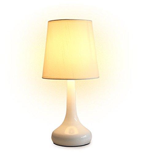 JAZS® Lampe de chevet lampe d'apprentissage lumières décoratives lampe de chambre à coucher lumière de nuit grande blanc protéger les yeux de longue durée