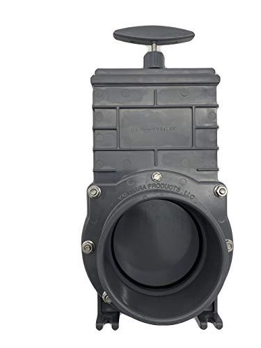 Sibo/ Aquaforte Valterra Zugschieber 3 x 110 mm mit Kunststoffplatte Gute Qualität Valterra Zugschieber 3 x 110 Kunsstoffplatte