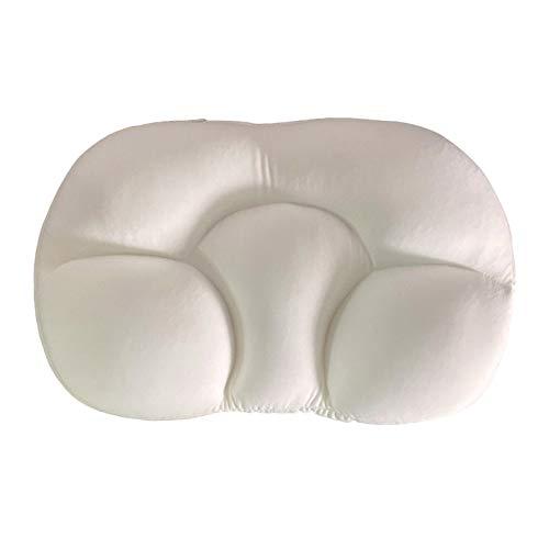 yahede All Round Cloud Pillow Memory Foam 3D Fast Sleep Almohada con soporte para huevos en la cabeza y el cuello Deep Sleeping Soft Cozy Travel Sleeping Pillow para migraña cuello y dolor efficiently