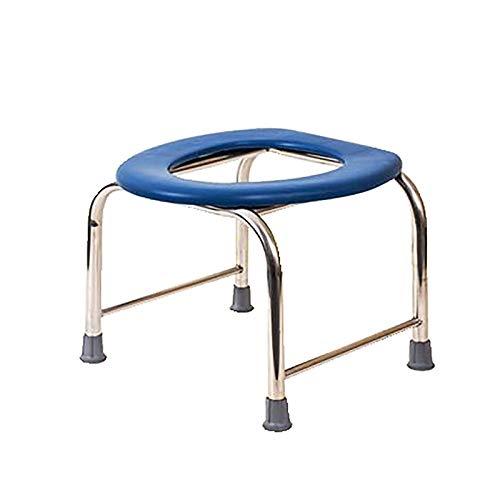 Silla WC con Inodoro Silla Inodoro - Váter Portátil con Bidet Acoplable - Silla de Baño para Ancianos Cómoda y Resistente