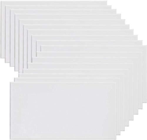 Lienzos en pack e individuales de varios tamaños para oleo, acrilicos y mixto. Pre-estirado color blanco desde 18x24 a 60x90 (30x40 (6unidades))