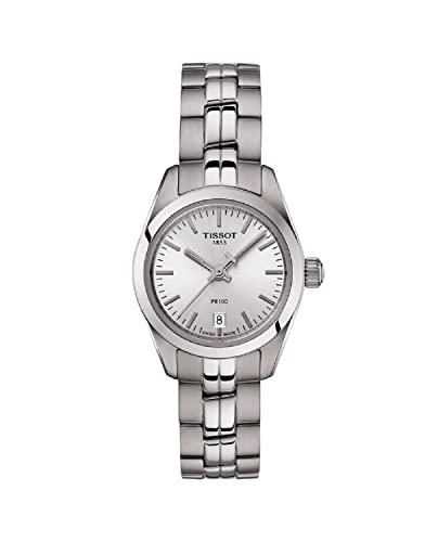 Tissot Reloj Analógico para Mujer de Cuarzo con Correa en Acero Inoxidable T1010101103100