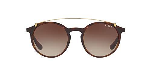 Vogue Eyewear 0VO5161S W65613 51 Occhiali da sole, Marrone (Dark Havana/Browngradient), Donna