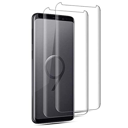 QNNEL Protezione dello Schermo in Vetro temperato per Samsung Galaxy S9 Plus 2.5D 9H 844233