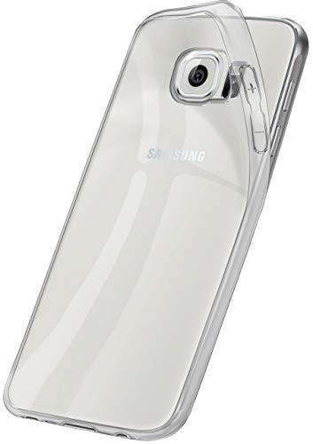 ONEFLOW Hülle kompatibel mit Samsung Galaxy S6 Transparent