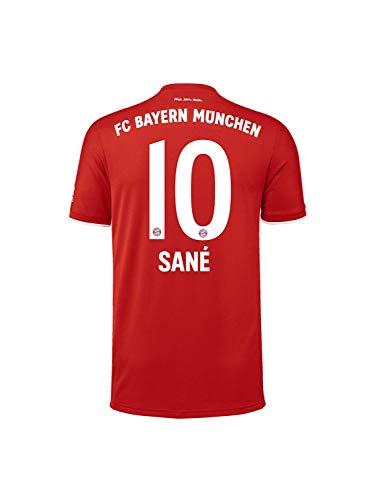 FC Bayern München Kinder Home-Trikot Saison 2020/21, Gr. 164, Leroy Sané