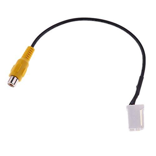 H HILABEE Cable de Vídeo de Cámara de Marcha Atrás de Coche de Repuesto Automático para DVD de Camry
