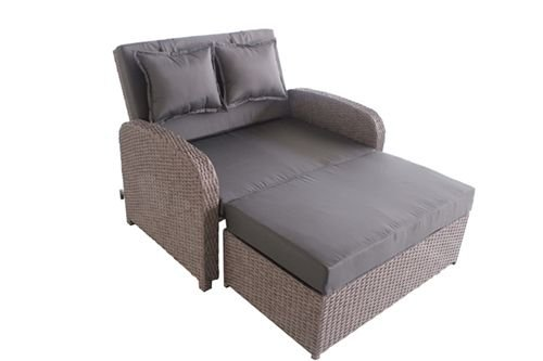 Greemotion Rattan Double Bali Bed