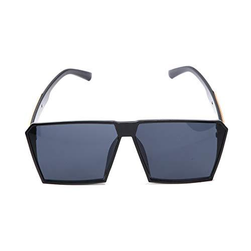 N / A - Gafas de sol para mujer, de gran tamaño, con marco grande, para viajes en la playa
