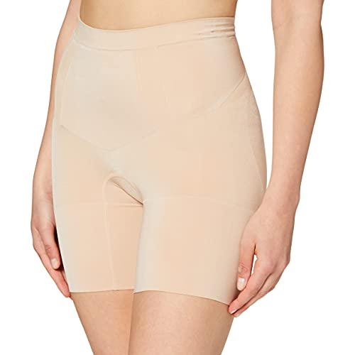 SPANX Oncore Mid-Thigh Short Soft Nude LG