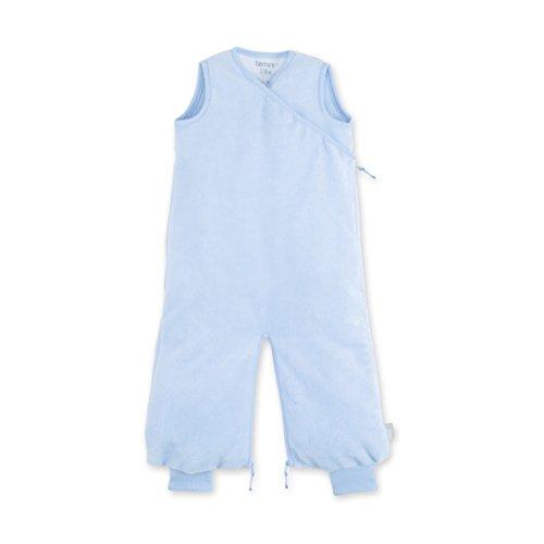 Bemini by Baby Boum 154BMINI60BU Schlafsack Bambus Morning, 3-9 Monate, blau