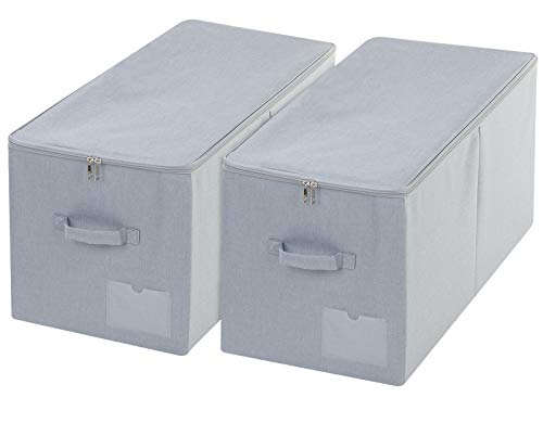 iwill CREATE PRO Pack of 2,Stackable Rigid Storage...