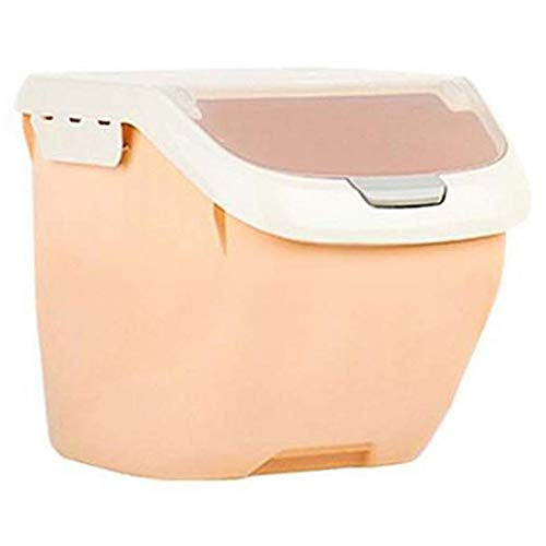 Yaootely Lagerung Von Reis Beh?Ltern 10 Kg, Getreide Beh?Lter mit BPA Freiem Kunststoff und Luftdichtem Design Geeignet für Orange