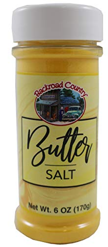 Sale!! Backroad Country Popcorn Butter Salt, 6 Ounce Bottle (170g)