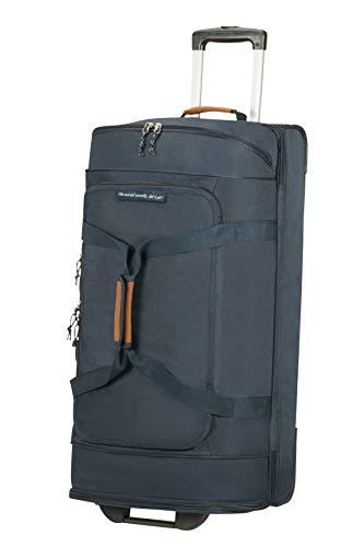 American Tourister Alltrail - Bolsa de Viaje con Ruedas L, 76.5 cm, 95.5 L, Azul (Navy)