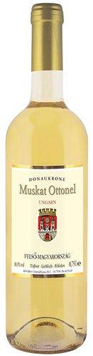 6x Donaukrone - Muskat Ottonel, lieblich, Ungarn - 750ml