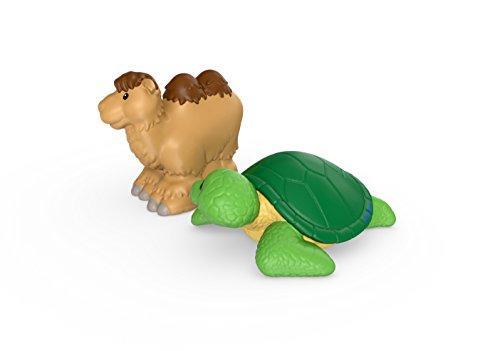 Fisher-Price Haustiere Doppelpack Kamel und eine Schildkröte