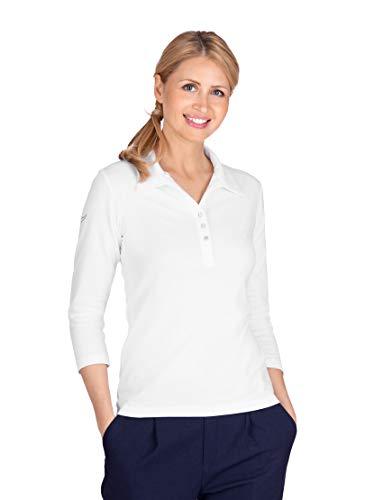 Trigema Damen Poloshirt mit Swarovski®-Kristallen