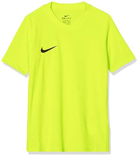 Nike SS YTH Park Vi JSY Camiseta de Manga Corta, Niños, Amarillo (Volt/Negro), M