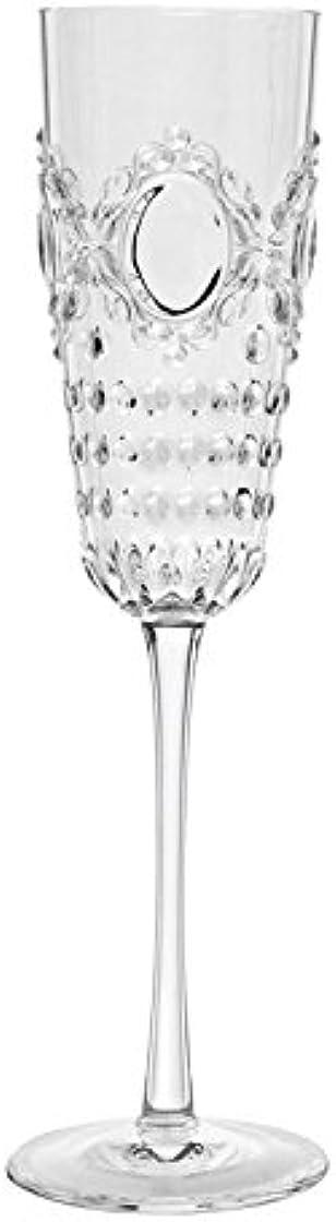 Set 6 flute trasparenti champagne baci milano acrylic glasses bicchieri baroque & rock emozionarsi B0774HZY3L