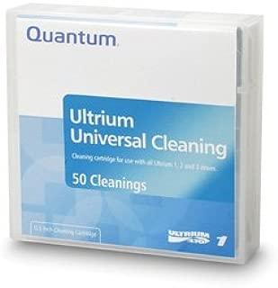 Quantum LTO, Ultrium-1, 2, 3, 4, 5, 6, 7 Clng Ctdg, 50 pass, Universal