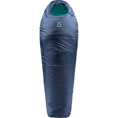 Haglöfs Musca-5 Schlafsack, Erwachsene, Unisex, Blau, 175 cm