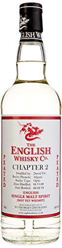 The English Whisky Chapter 2 Peated Single Malt Spirit (1 x 0.7 l)