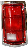 TYC 11-5059-01 Compatible with DODGE Pickup Passenger Side Replacement Tail Light Assembly 1993 Dodge W150 Pickup