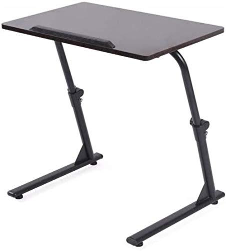 TONG Mesa de ordenador simple mesa de elevación móvil mesa plegable sofá mesa estudio mesas 60 x 40 cm durable