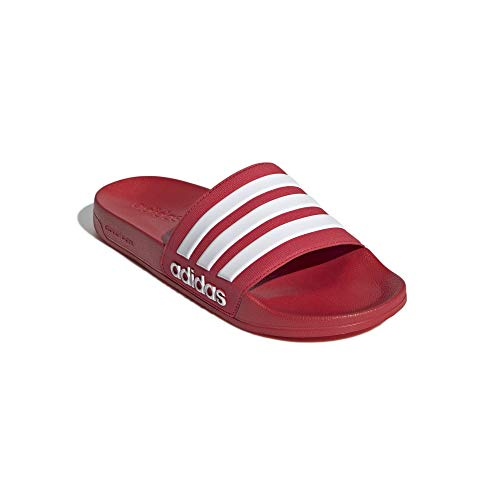 adidas Shower Adilette - Chanclas, color Rojo, talla 46 EU