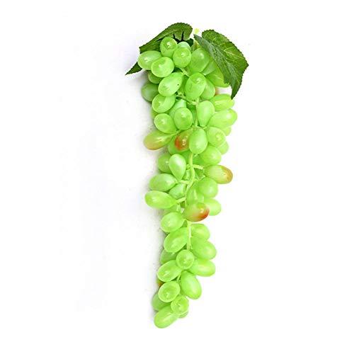 Demarkt Deko Weintrauben Trauben Kunstobst Kunstgemüse künstliches Obst Gemüse Dekoration