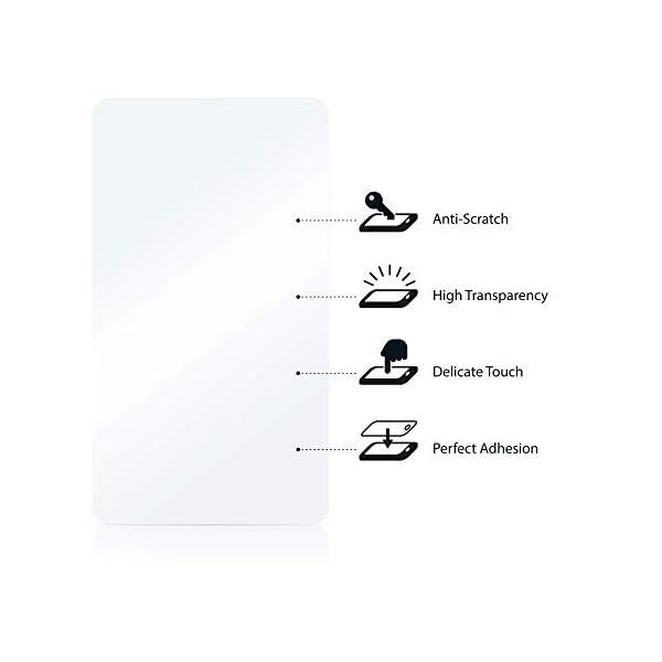 "savvies Protector Pantalla Compatible con Holalei Fitness Tracker 1.3"" (6 Unidades) Pelicula Ultra Transparente 6"