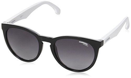 Carrera 5040/S 9o Gafas de Sol, Negro (Black White/Dark Grey SF), 53 Unisex-Adulto