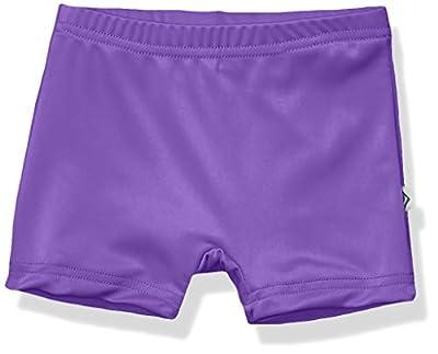 """Kanu Surf Girls' Toddler Swimming Bottom UPF 50+""""Boy Short, Purple, 2T"""