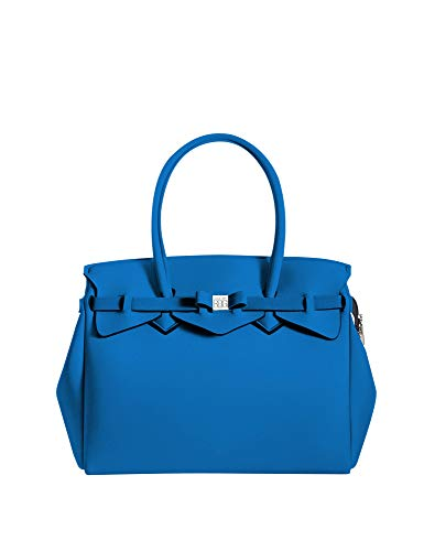 save my bag MISS PLUS Shopping Donna Bluette PZ