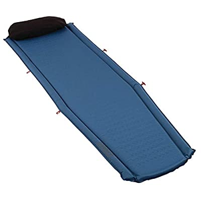 Coleman Silverton Tall Self Inflating Camp Pad, 22 x 76 x 1.5