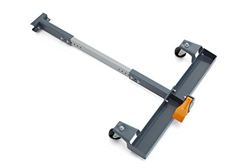 BORA Portamate PM-3245 Mobile Base T-Extension for Bora Portamate PM-3500 or PM-3550 Mobile Base, For Moving Large Machinery And Fence Systems,Black