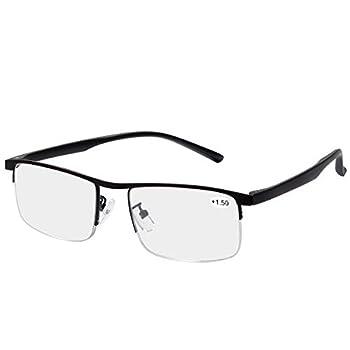Progressive Multifocus Computer Reading Glasses Blue Light Blocking Multifocal Readers for Men and Women Multi Focus Eyeglasses Eyewear Anti Glare Eye Strain Light Weight