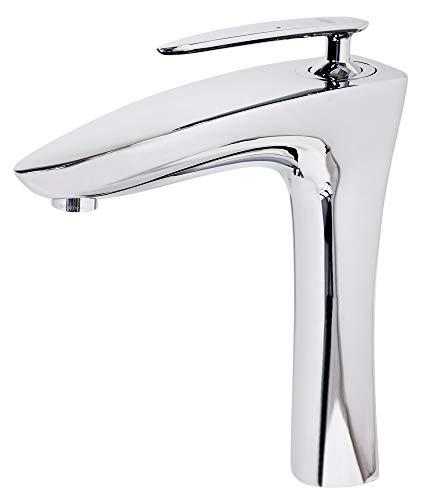 Design Waschbecken Einhebel Armatur Wasserhahn Chrom Sanlingo Dana